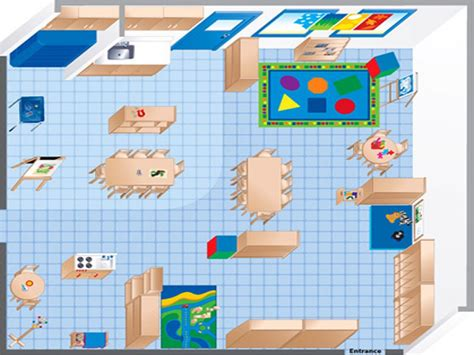 classroom layout for kindergarten room diagram maker ecers preschool classroom floor plan