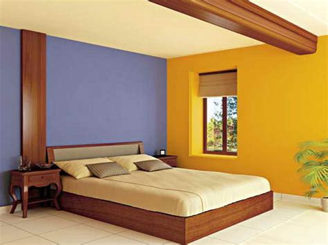 bedroom colors for bedroom wall with combinasi color - Wall Color For Bedroom
