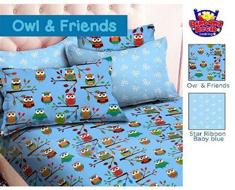 Sprei Owl by Detail Produk Sprei Dan Bedcover Owl Friends Toko Bunda