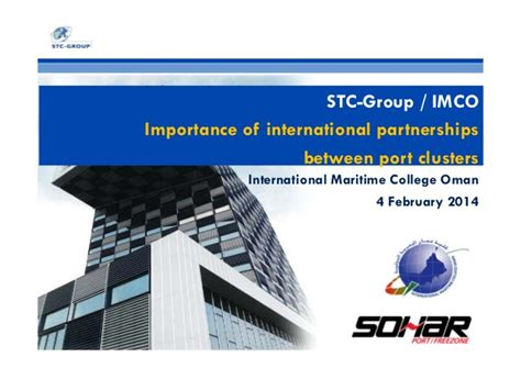 relevance of major and minor ports in international trade masterclass imco 04 feb2014 importance of international
