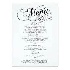 blank fancy menu template google search halloween