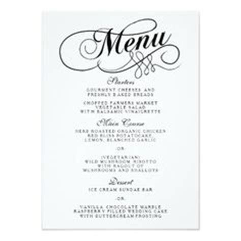 fancy dinner menu template blank fancy menu template search