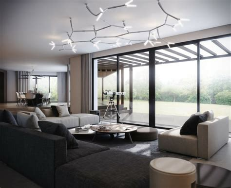 Plafond Moderne by Maison Styl 233 E Contemporaine 224 L Aide De Plafond Moderne