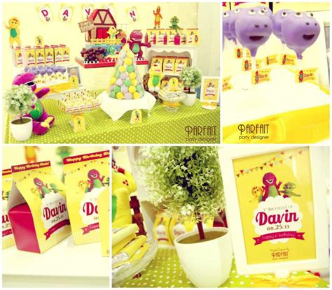 Barney Decorations by Kara S Ideas Barney And Friends Ideas Planning
