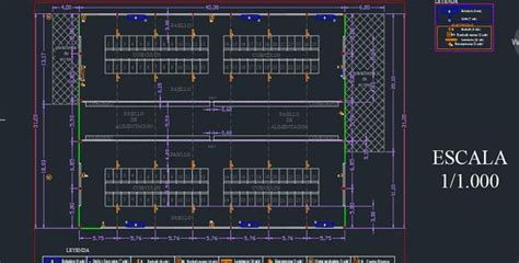 layout plan cad stable dairy cows farm free dwg floor plan and layout of