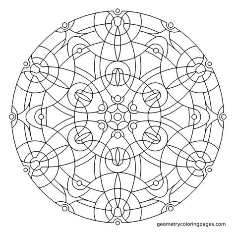 free coloring pages of mandala to cd