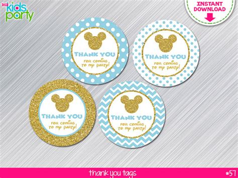 Instan Baby Blue instant baby blue and gold mickey mouse inspired