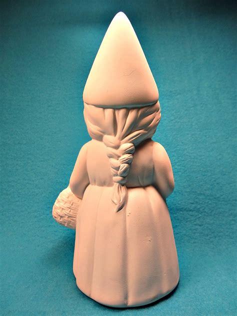 female garden gnome hilda funny gnome figurine crafts