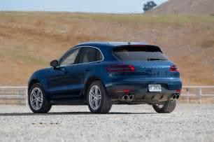 Porsche Macab 2015 Porsche Macan S Macan Turbo Test Motor Trend
