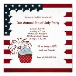 freedom 4th of july invitations zazzle