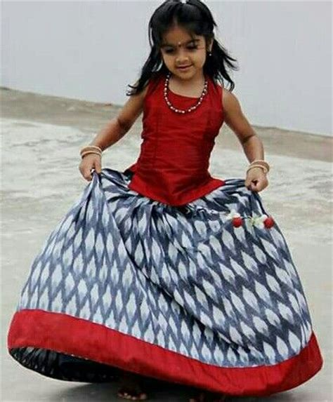 Simple Etnic Blous kid in langa blouse in indian wear kid for and simple
