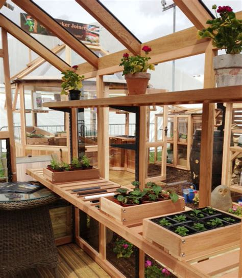 inside greenhouse ideas 6ft x 8ft chartley cedar greenhouse with aluminium capping