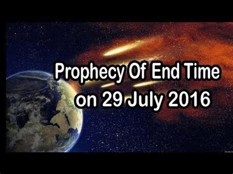 The World Is Ending 1 the world ending on july 29 2016