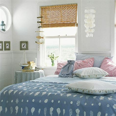 seaside bedroom accessories bedroom with blue bedding and seaside accessories