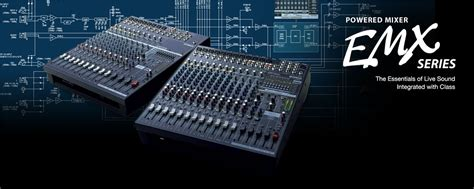 Mixer Yamaha Emx 5016 emx5016cf specifications yamaha united states