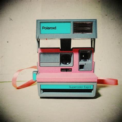 light blue polaroid bg light blue cameras oggetti pink polaroid image