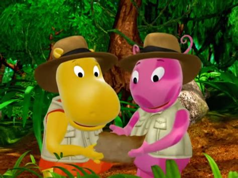 Backyardigans Jungle Episode Image The Backyardigans Quest For The Flying Rock 11