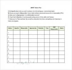 smart plan template 9 plan templates free sle exle format