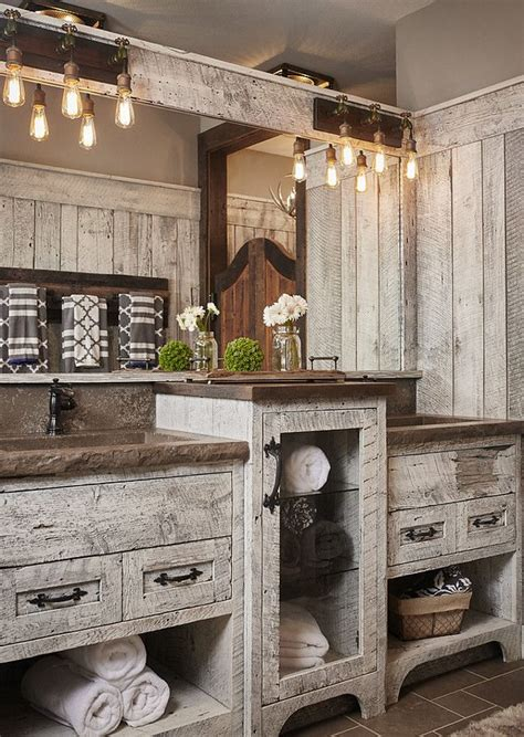 rustic bathroom 25 best rustic home design ideas on rustic