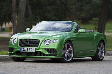 L A Drives Glamorous Bentley Convertible Deserves Cushy