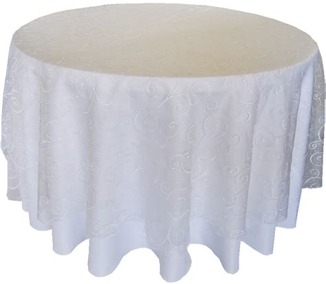 organza table overlays white embroidered swirl organza table overlays 108 quot