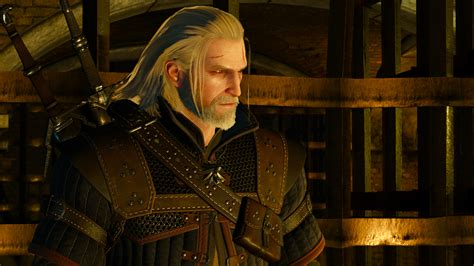 witcher 2 hairstyles mod geralt enhanced wind effect hairworks only cd