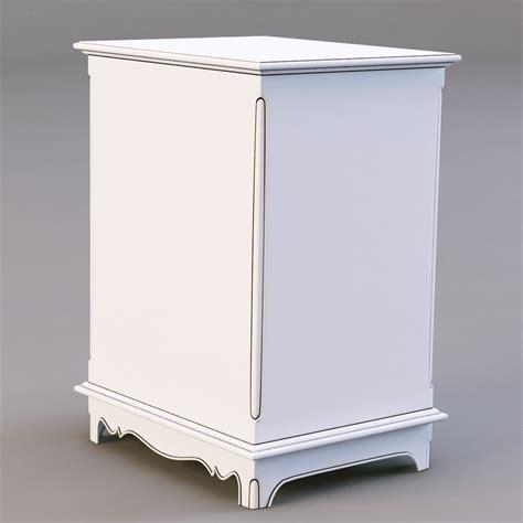 corner nightstand bedroom furniture country corner pbch nightstand 3d model max obj 3ds fbx