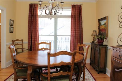 The Comforts Of Home by The Comforts Of Home The Dining Room Curtains