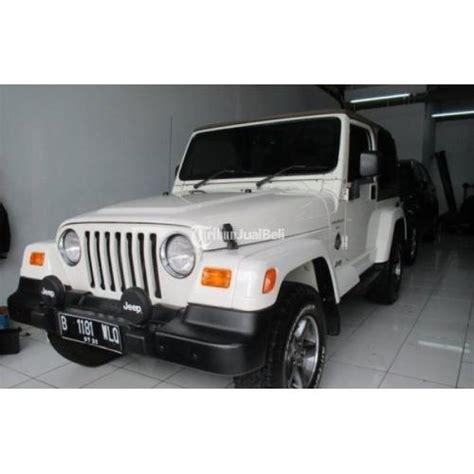 Harga Jeep Renegade Mobil Jeep Wrangler Tj Renegade Tahun 2000 Diesel Second