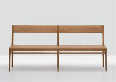 wood benches with backs 10 easy pieces modern wooden benches with backs remodelista