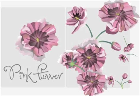 flower pattern coreldraw pink flower vector corel draw tutorial and free vectors