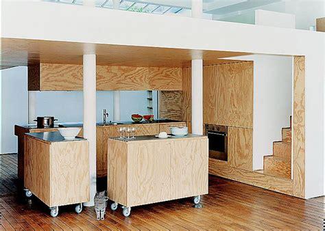 cacher une cuisine ouverte cuisine am 233 ricaine