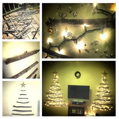 command hooks for christmas lights diy wall christmas tree made fom sticks 3m command