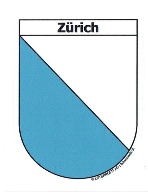 Aufkleber Drucken Z Rich by Z 252 Rich Zh Sticker In Wappenform Mit Schriftzug Z 252 Rich
