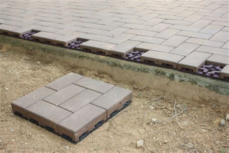 Composite Patio Pavers Patio Gridlock With Azek Composite Pavers How To