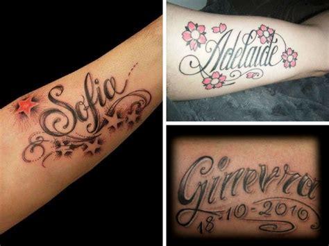 tatuaggi con scritte e fiori tatuaggi scritte nomi foto e idee da copiare style
