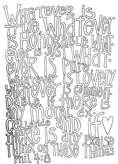 adult colouring page bible verse philippians 4 instant 17 best images about bible verse coloring pages on