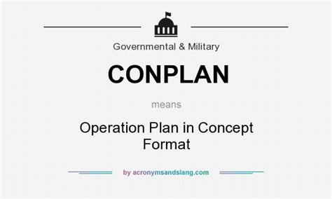 military conops template free download programs