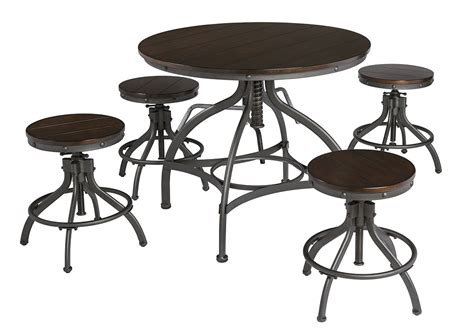 Brown Dining Table Set Home Furnishings Depot Ny Odium Brown Dining Room Counter Table Set