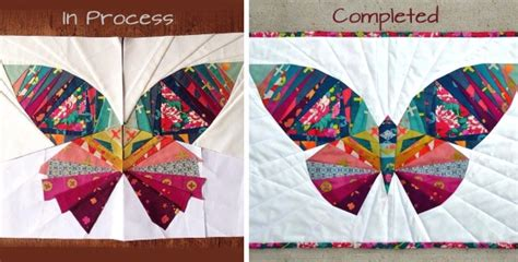 Take Wing with This Paper Pieced Butterfly   Quilting Digest