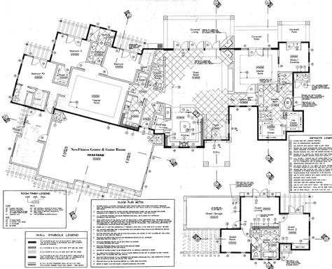 detailed floor plan accommodations desert ridge estate