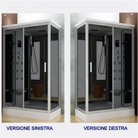 cabina doccia multifunzione 70x120 cabina idromassaggio 6 getti 70x120 box doccia