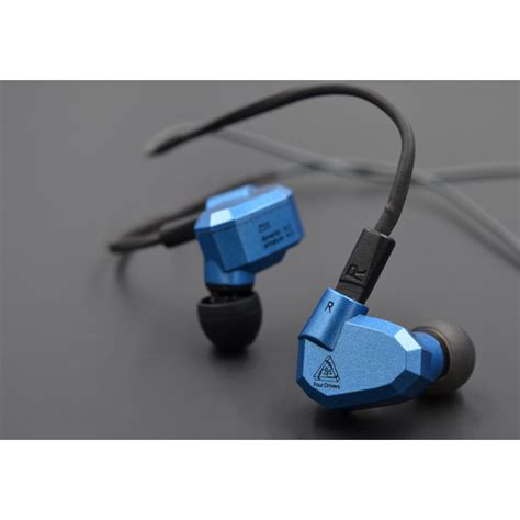 Knowledge Zenith Hybrid Earphone Kz Zs5 Limited knowledge zenith hybrid earphone with mic kz zs5 gray jakartanotebook