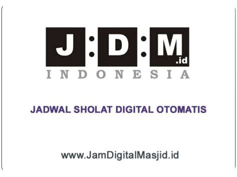 Jadwal Sholat Digital Jadwal Waktu Sholat Jsd0260110rt jam digital masjid jual jam jadwal sholat digital otomatis harga mu