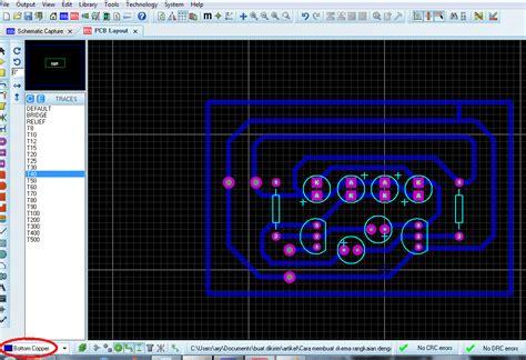 fungsi layout pcb cara membuat layout pcb atau mendesain pcb dengan proteus