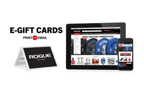 Rogue Fitness Gift Card - rogue gift certificates custom strength training crossfit gifts rogue fitness