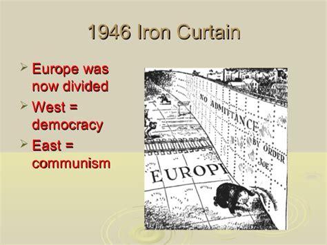 1946 iron curtain the cold war 1945 50
