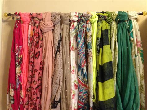 How To Store Scarves In A Closet by Changes Big Differences Scarf Organization