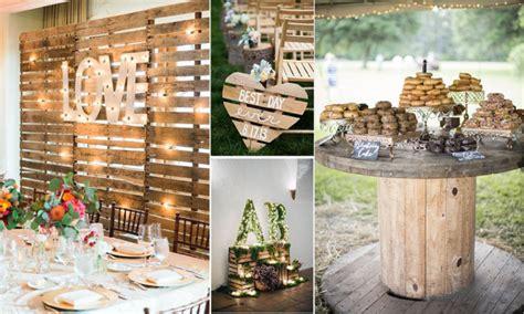 decoracion boda rustica tendencia en decoraci 243 n y colores para bodas 2017