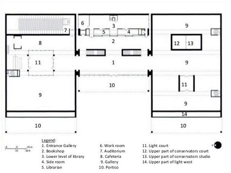 kimbell museum floor plan 69 best images about history of architecture on stirling cambridge and villas